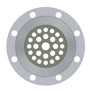 Custom Eccentric Restriction Orifice Plate